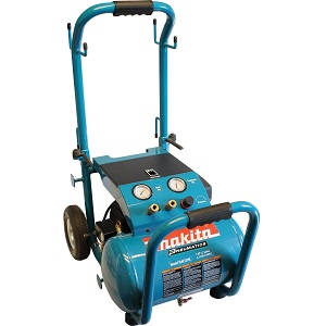 Air compressor for painting and nail gun